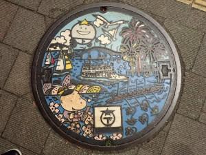 琵琶湖が中心です