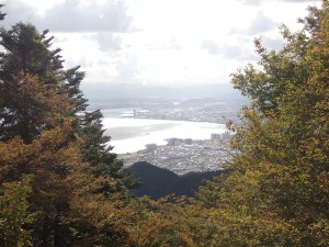 湖南方面の琵琶湖