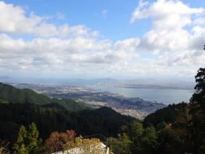 琵琶湖大橋がある湖北方面