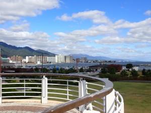 よく晴れた琵琶湖