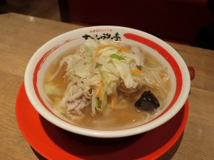 細麺がうまい 長崎とは、まったく別物
