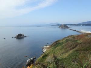 絵鞆岬から大黒島