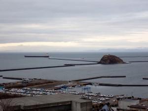 大黒島とタンカー