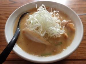 「麺や嵐」の味噌ラーメン おいしかった