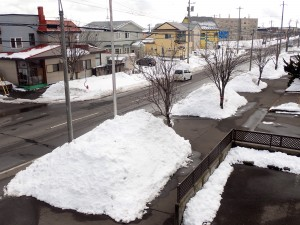 大雪の八丁平
