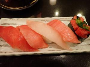 久々のお寿司