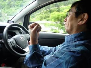 安全運転で!