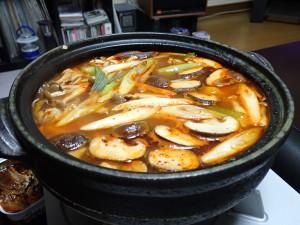 おいしくできた鍋