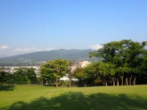 きれいな公園に感動