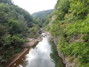 きれいな渓谷