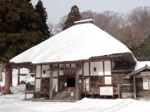 冬の善光寺は初めて