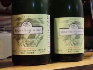 昨年と今年のワインの 飲み比べをした