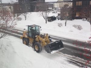 除雪ご苦労様