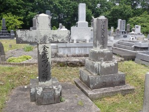 こじんまりとした墓