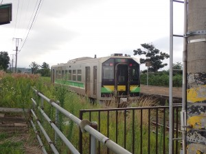 東室蘭行きの各駅列車