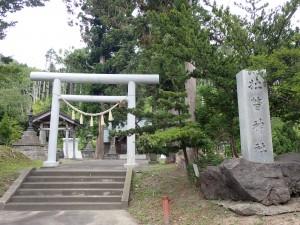 敷地の広い立派な神社